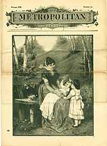 Thumbnail image of The Metropolitan, Volume XX, No. 10 cover
