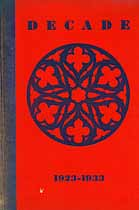 Thumbnail image of Decade 1923-1933 cover