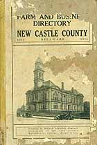 Thumbnail image of New Castle County, De. 1914 Farm Directory cover