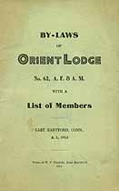 Thumbnail image of Orient Lodge, A. F. & A. M. 1914 By-Laws cover