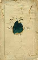 Thumbnail image of Swarthmore College 1877-78 Catalogue cover