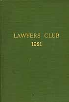 Thumbnail image of Lawyers' Club 1921 cover