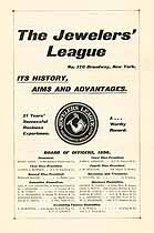 Thumbnail image of The Jewelers' League 1898 Officers cover