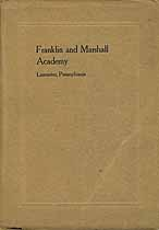 Thumbnail image of Franklin and Marshall Academy 1912-1913 Catalogue cover