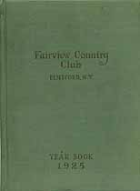 Thumbnail image of Fairview Country Club 1925 Year Book cover