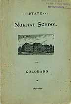 Thumbnail image of Colorado State Normal School 1891-1892 Catalogue cover