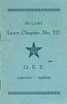 Thumbnail image of Lawn Chapter O. E. S. 1919 By-Laws cover
