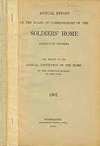 Thumbnail image of District of Columbia Soldiers' Home 1907 Report cover