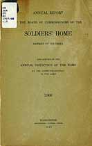Thumbnail image of District of Columbia Soldiers' Home 1908 Report cover
