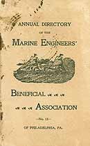 Thumbnail image of Marine Engineers' Beneficial Ass'n No. 13, 1900 Members cover