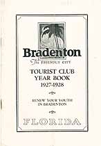 Thumbnail image of Bradenton Tourist Club 1927-28 Year Book cover