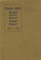 Thumbnail image of Tufts 1904 Club 1905-06 Report cover