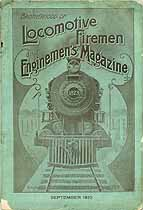 Thumbnail image of Locomotive Firemen and Enginemen's Magazine 1910 September cover
