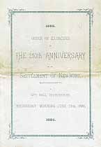 Thumbnail image of Newbury 250th Anniversary Programme cover