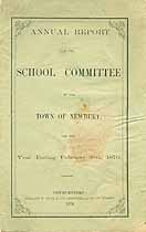 Thumbnail image of Newbury School Committee 1870 Report cover