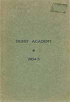 Thumbnail image of Derby Academy 1904-5 Catalogue cover