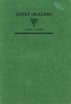 Thumbnail image of Derby Academy 1906-7 Catalogue cover