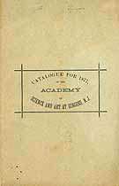 Thumbnail image of Ringoes Academy of Science and Art 1877 Catalogue cover