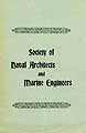 Thumbnail image of Naval Architects and Marine Engineers Society 1896 Directory cover