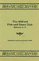 Thumbnail image of Milford Fish and Game Club 1904 Roster cover