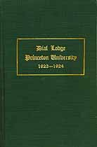 Thumbnail image of Dial Lodge 1923-1924 Club Members cover