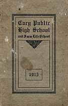 Thumbnail image of Cary Public High School 1915 Catalogue cover