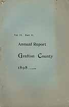 Thumbnail image of Grafton County 1898 Reports of the Commissioners cover