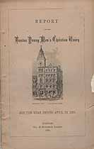 Thumbnail image of Boston Young Men's Christian Union 1881 Report cover