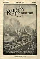 Thumbnail image of The Railway Conductor, Vol. XXXIV, No. Two cover