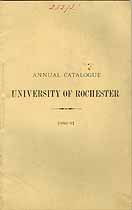 Thumbnail image of Univ. of Rochester 1880-1 Catalogue cover
