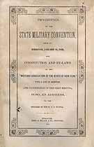 Thumbnail image of New York Military Association 1853 Convention cover