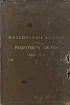 Thumbnail image of Oneida Presbyterian Church 1894 Semi-Centennial cover