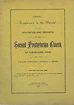 Thumbnail image of Cleveland Second Presbyterian Church 1888 Supplement cover