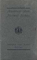 Thumbnail image of Aroostook State Normal School 1903-1904 Catalogue cover