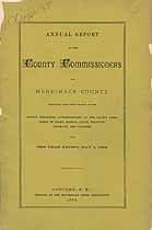 Thumbnail image of Merrimack County Commissioners 1884 Report cover