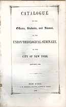 Thumbnail image of Union Theological Seminary N.Y.C. 1848 Catalogue cover