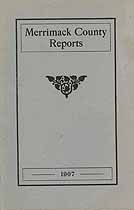 Thumbnail image of Merrimack County Commissioners 1907 Report cover
