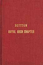 Thumbnail image of Sutton Royal Arch Chapter 1911 Year Book cover