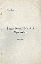 Thumbnail image of Boston Normal School of Gymnastics 1894-1895 Catalogue cover