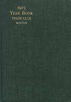 Thumbnail image of Boston Trade Club 1903 Year Book cover