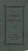 Thumbnail image of St. Luke's Episcopal Church Kalamazoo 1928 Directory cover