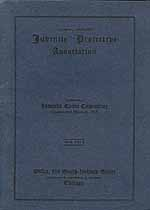 Thumbnail image of Juvenile Protective Association 1912-13 Report cover