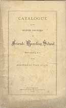 Thumbnail image of Providence Friends' Boarding School 1874-75 Catalogue cover