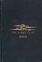 Thumbnail image of The Sunset Club 1894-95 List of Members cover
