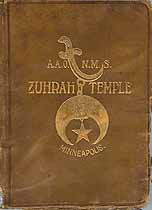 Thumbnail image of Zuhrah Temple A.A.O.N.M.S. 1894 Roster cover