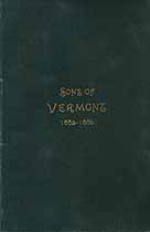 Thumbnail image of Sons of Vermont, Illinois Association, 1882-1886 Reports cover