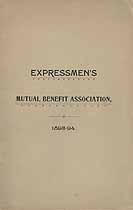 Thumbnail image of Expressmen's Mutual Benefit Association 1893-94 cover