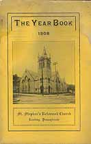 Thumbnail image of St. Stephen's Reformed Church 1908 Year Book cover