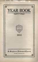 Thumbnail image of St. Stephen's Reformed Church 1912 Year Book cover