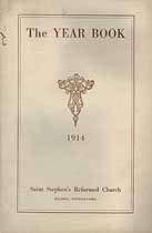Thumbnail image of St. Stephen's Reformed Church 1914 Year Book cover